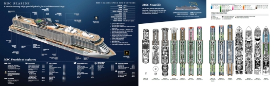 Seaside - Brochure et plan des ponts