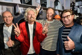 Virgin Voyages Lady Ship - Alberto Maestrini - Richard Branson - Steve Pagliuca - Tom McAlpin