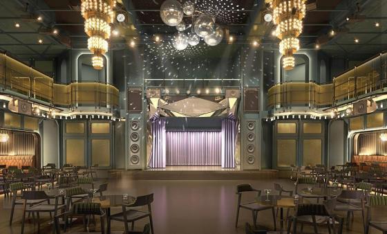 Virgin Voyages - Lady Ship - Salle de spectacle
