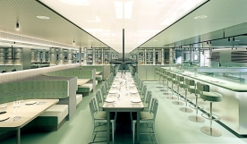 Virgin Voyages Lady Ship_Test Kitchen by Concrete Amsterdam