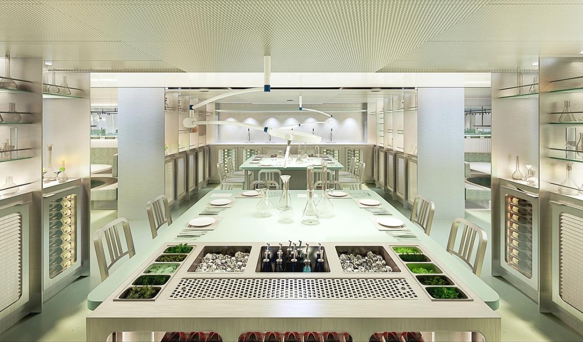 Virgin Voyages Lady Ship_Test Kitchen by Concrete Amsterdam