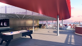 Virgin Voyages Lady Ship - Athletic Club by Concrete Amsterdam