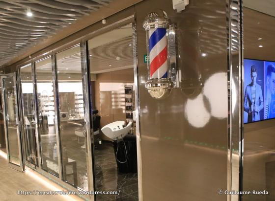 MSC Seaside - Barbier et coiffeur