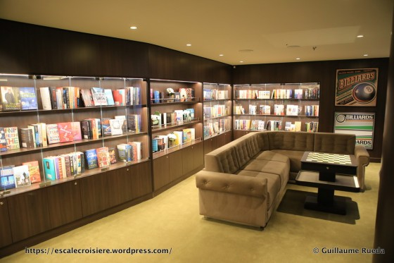 MSC Seaside bibliothèque