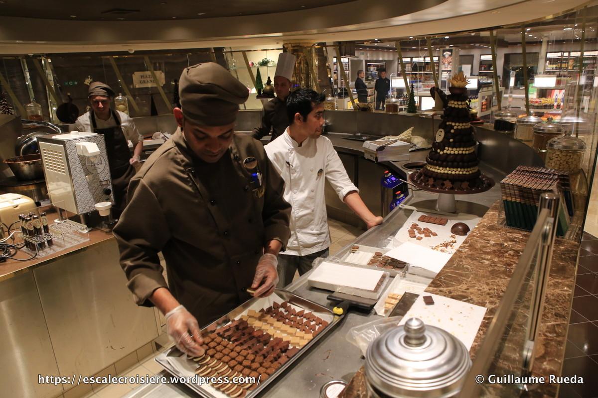 MSC Seaside - Chocolatier Venchi 1878 Chocolate bar