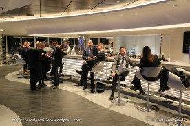 MSC Seaside - Champagne bar
