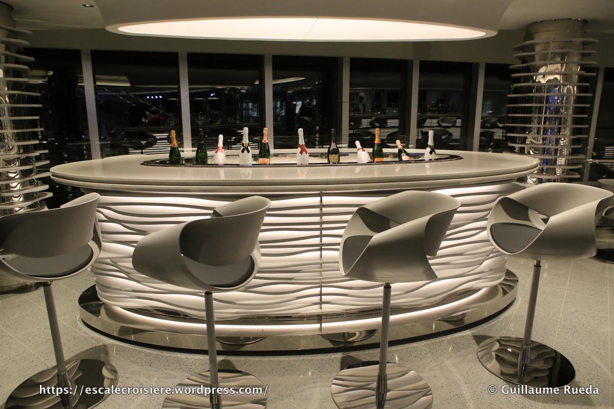 msc seaside champagne bar escale croisi re. Black Bedroom Furniture Sets. Home Design Ideas