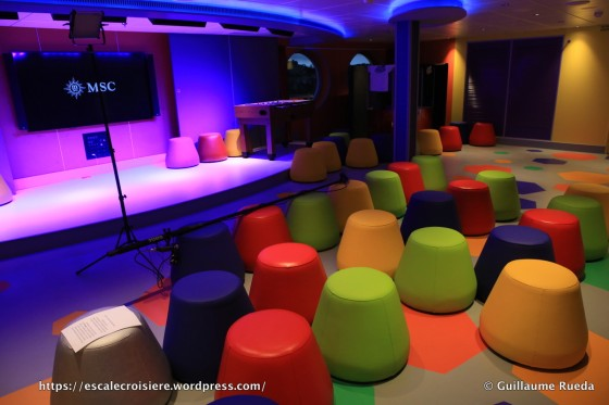 MSC Seaside - Clubs enfants