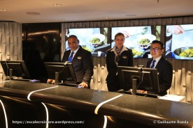 MSC Seaside - Guest Service - Réception