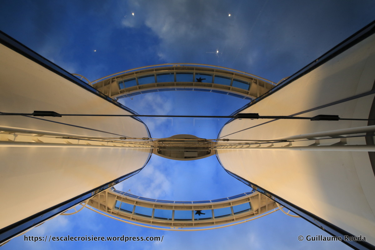 MSC Seaside - Passerelle Pont 18 - Bridge of sight