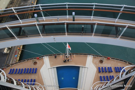 MSC Seaside - Passerelle Pont 18 - Bridge of sight