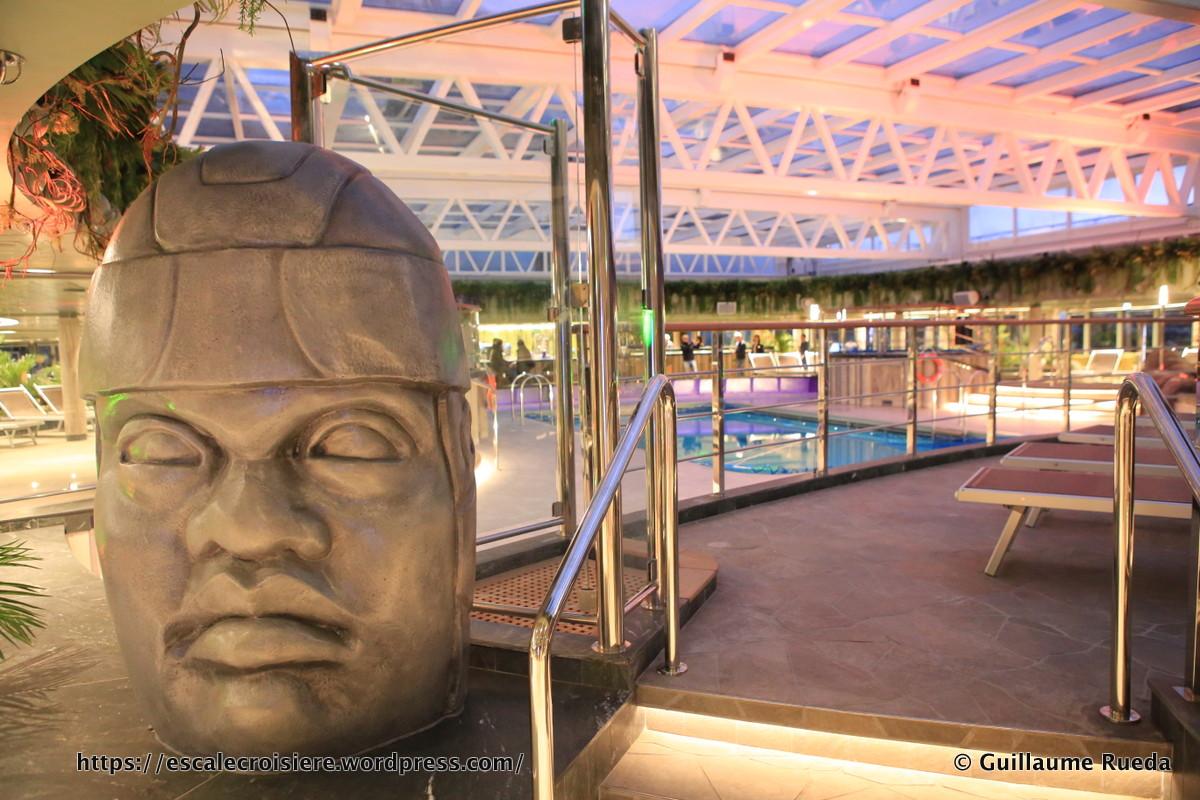 MSC Seaside - Piscine Jungle Pool Lounge