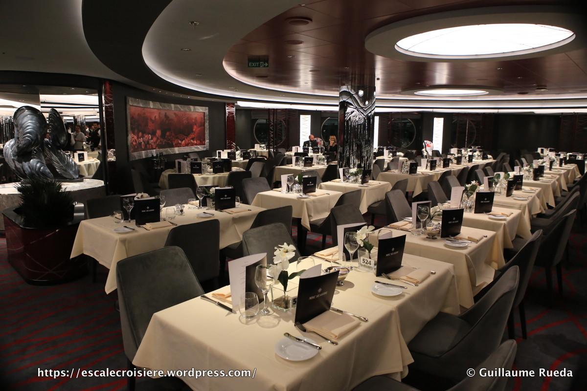 MSC Seaside - Restaurants Seashore etIpanema