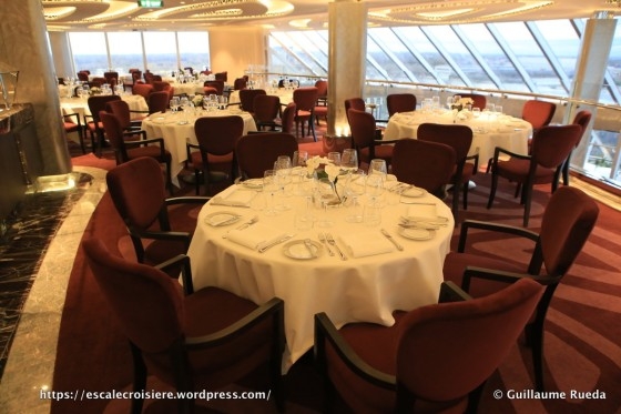 MSC Seaside - Yacht Club restaurant