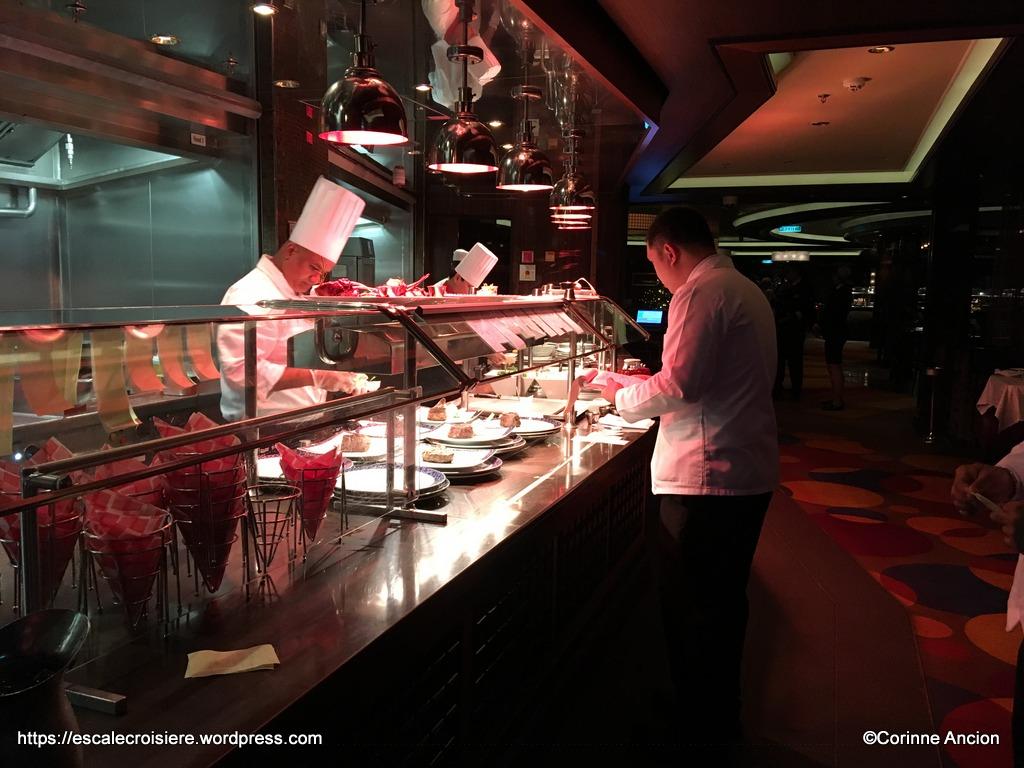 Norwegian Breakaway - Cagney's Steakhouse