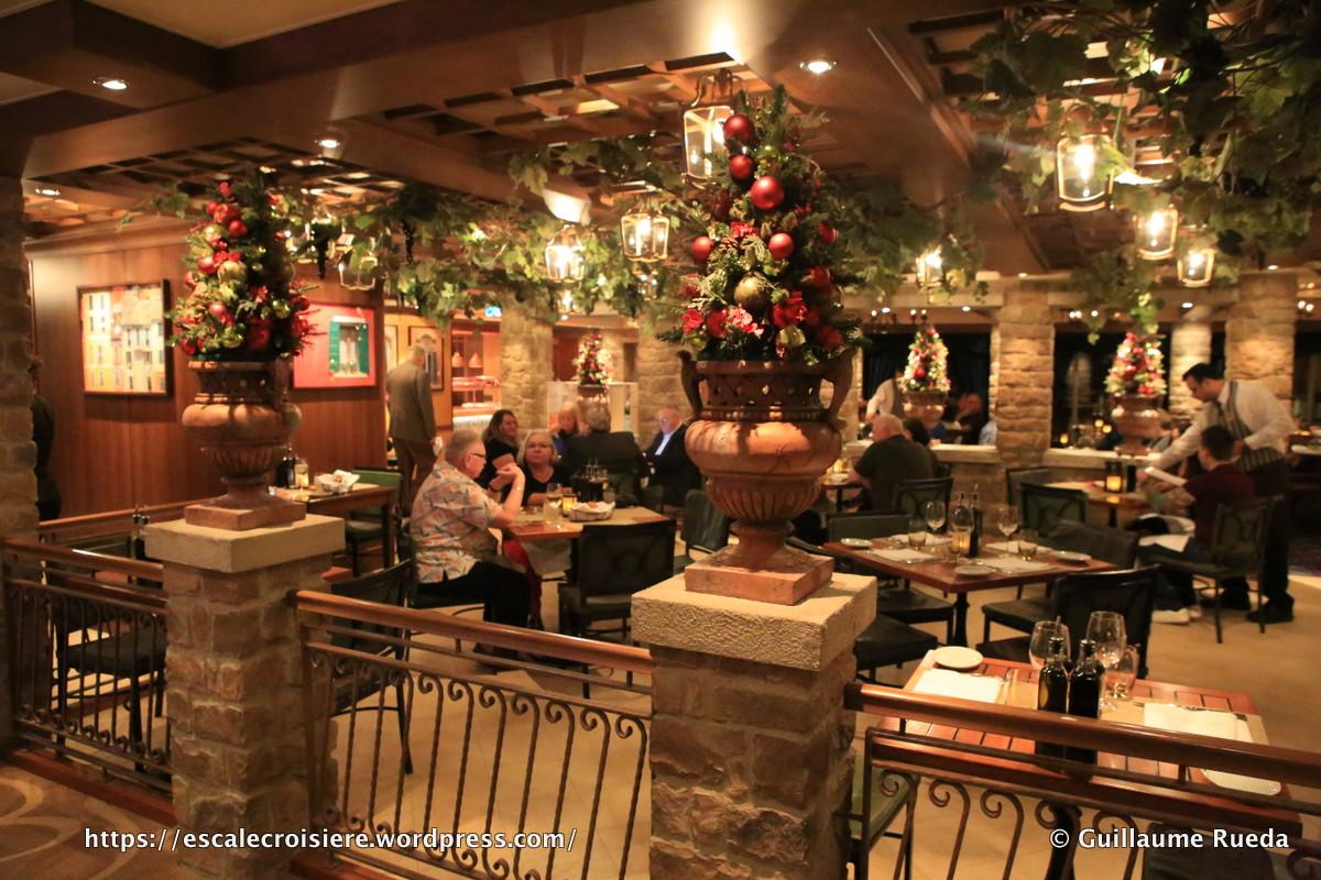 Norwegian Breakaway - La Cucina restaurant