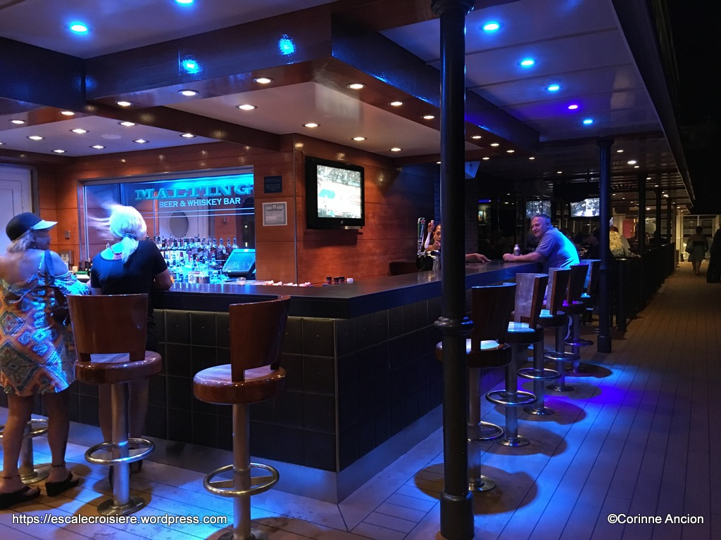 Norwegian Breakaway - Maltings bar