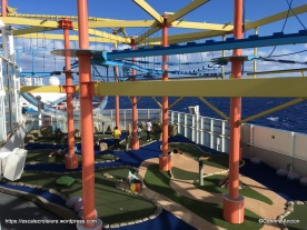 Norwegian Breakaway - Mini golf