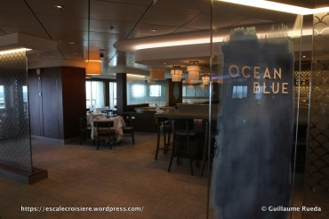 Norwegian Breakaway - Ocean Blue Restaurant