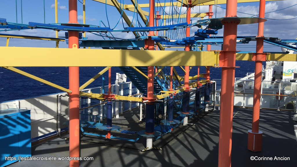 Norwegian Breakaway - Rope Course - Accrobranche enfants