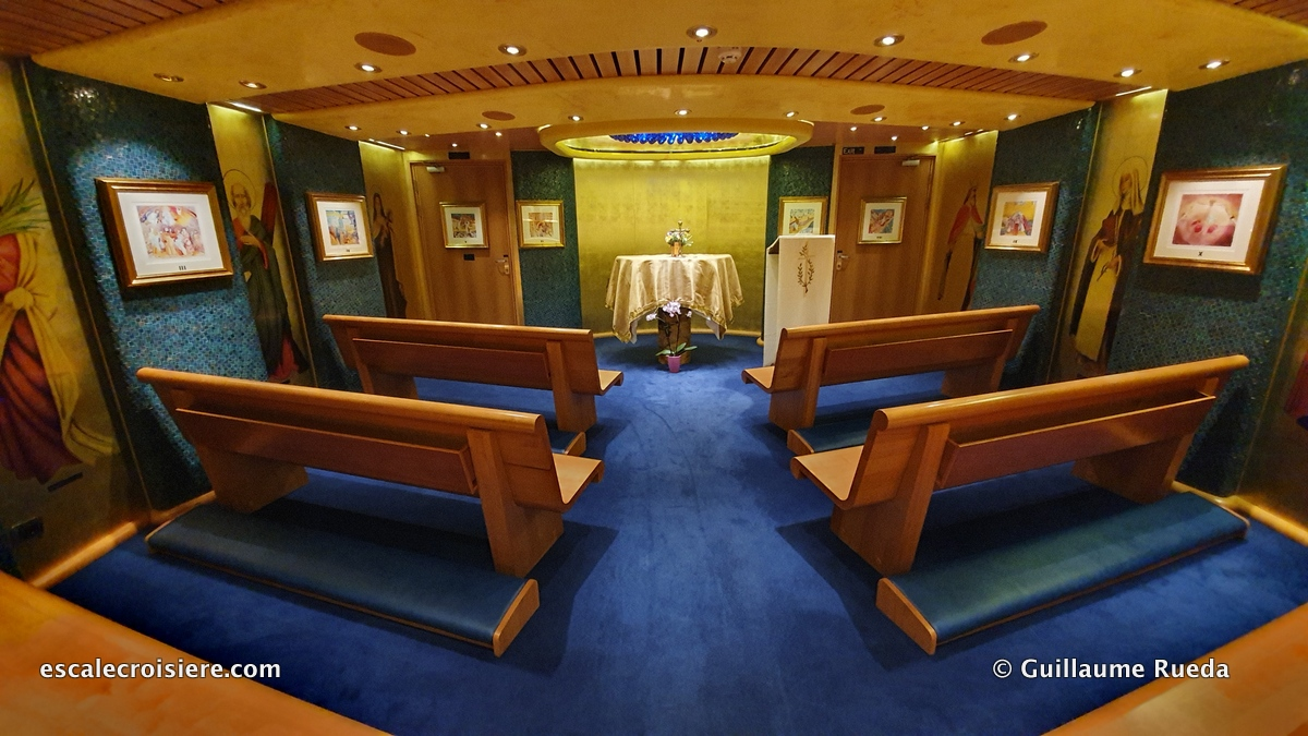 Costa Diadema - Chapelle