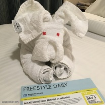 Nassau - Bahamas - Towel Animal Day 5