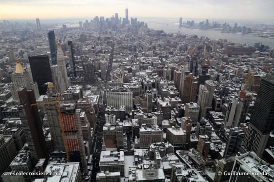 New York depuis Empire State Building