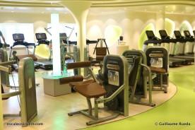 AIDAperla - Salle de sport