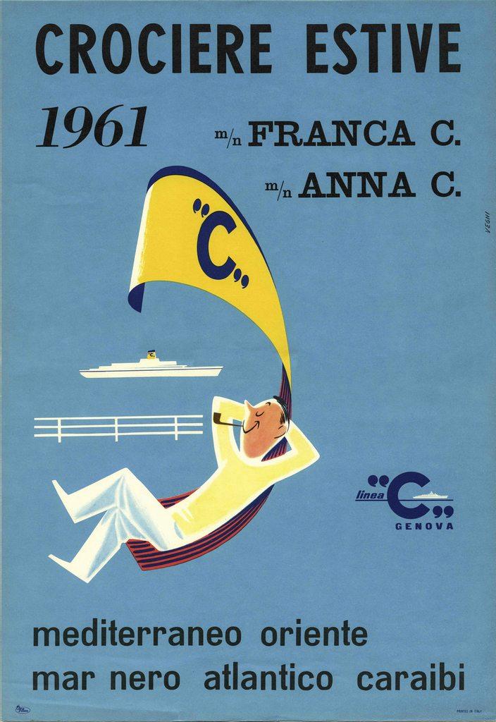 Anna C - Franca C - 1961 - Costa Croisières