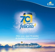 Costa Croisières 70 ans