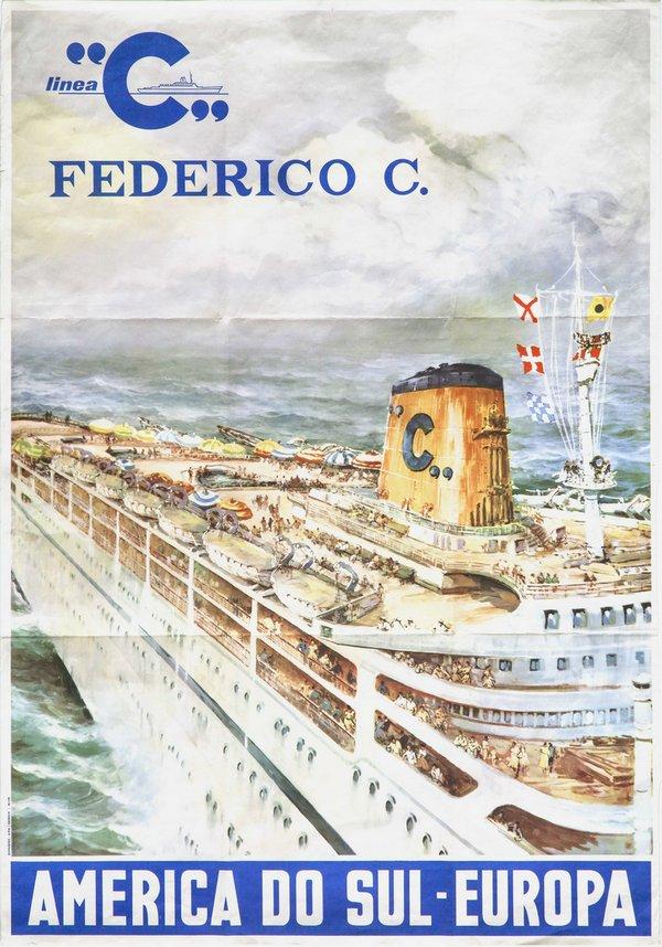 Federico C - 1958 - Costa Croisières