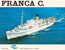 Franca C - 1977 - Costa Croisières