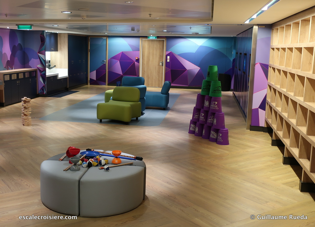Norwegian Bliss - Espace enfant - Splash Academy