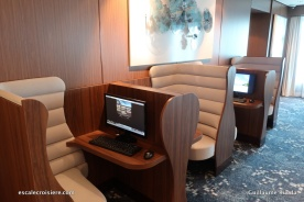 Norwegian Bliss - Espace Internet