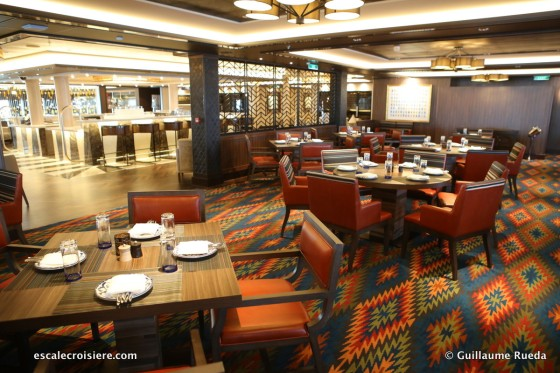 Norwegian Bliss - Los Lobos restaurant