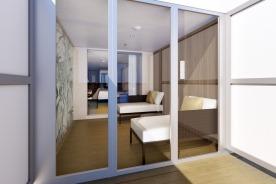 Costa Smeralda - Cabine jardin d'hiver avec balcon (1)