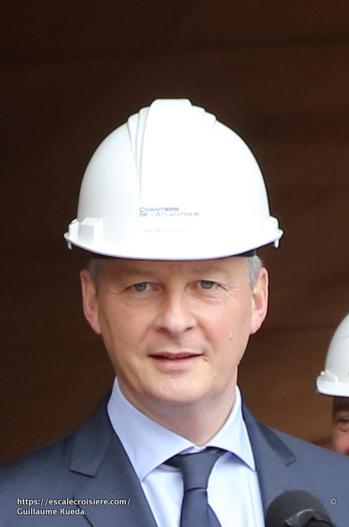 Bruno Le Maire - STX France - Chantiers de l'Atlantique (1)
