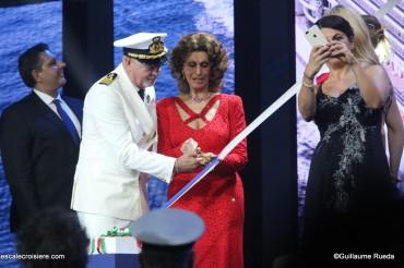 MSC Seaview - Baptême - Pier Paolo Scala - Sofia Loren