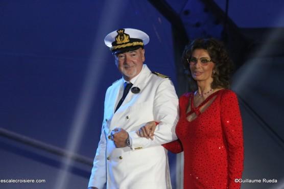 MSC Seaview - Baptême - Pier Paolo Scala - Sofia Loren (3)