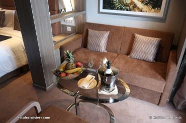 MSC Seaview - Cabine Yacht Club avec balcon (1)