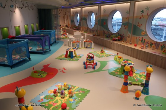 MSC Seaview - Clubs enfants - Baby club