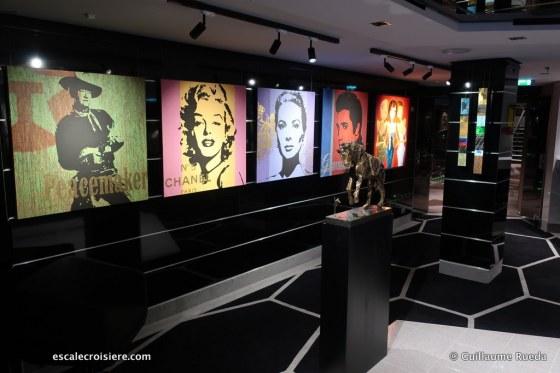 MSC Seaview - Galerie d'art