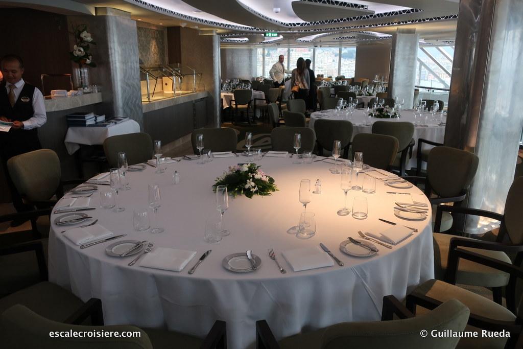 MSC Seaview – MSC Yacht Club Restaurant | Escale croisière