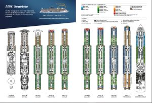MSC Seaview - Plan des ponts