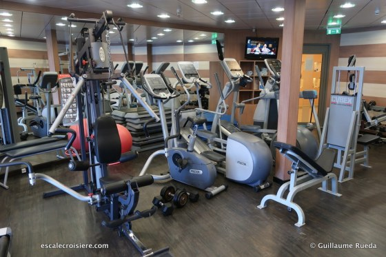Celestyal Crystal - Salle de sport