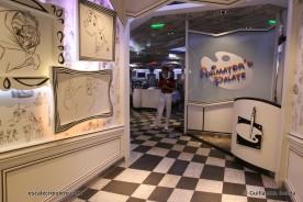 Disney Magic - Animator's Palate restaurant