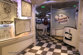 Disney Magic - Animator's Palate restaurant