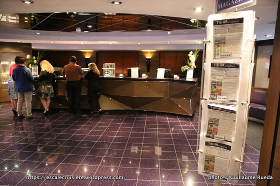 MSC Splendia - Bureau des excursions
