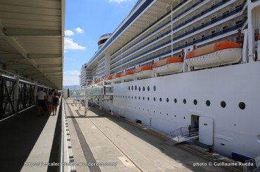 MSC Splendida - Embarquement à bord
