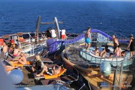 MSC Splendida - Piscine arrière - Playa del sol zen area